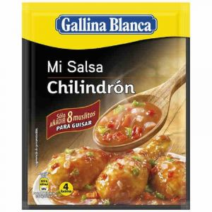 Salsa chilindron galina blanca 39g