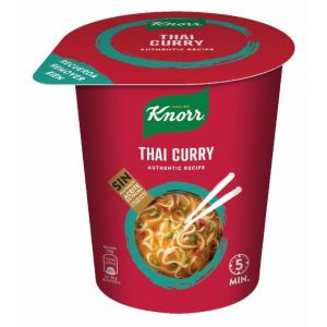 Pasta thai red curry knorr cup 87gr