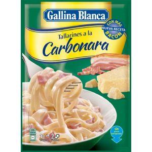 Pasta de carbonara gallina blanca 148g