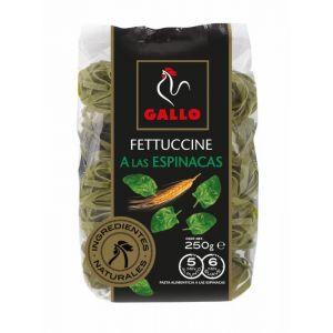 Pasta fettuccine espinacas gallo 250g