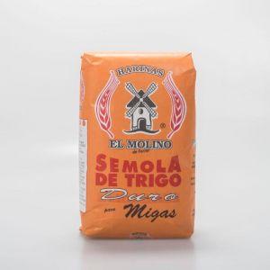Semola de trigo duro el molino 500g