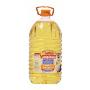 aceite de girasol alto oleico 80% capicua 5l