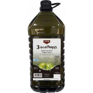 aceite de oliva virgen extra cexac 5l