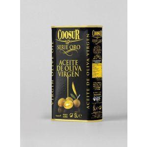 Aceite de oliva virgen serie oro coosur lata 5l