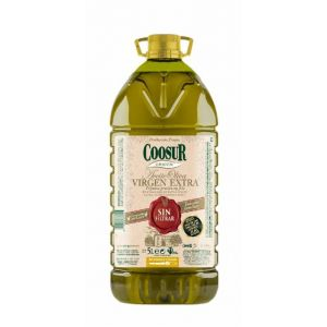 Aceite oliva virgen extra sin filtrar coosur 5l