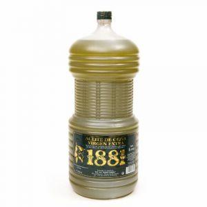 Aceite oliva virgen extra s/filtrar 1881 garrfa 5l