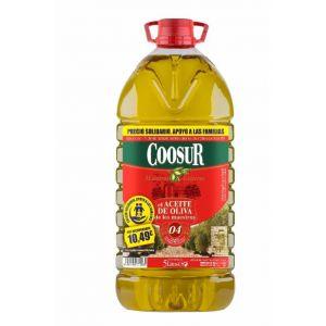 Aceite oliva suave coosur 5l