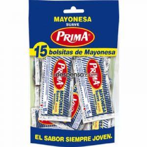 Mayonesa prima en bolsa 15x10g