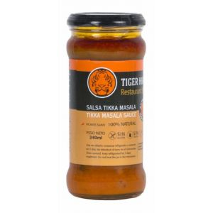 Salsa tikka massala tiger khan tarro 340ml
