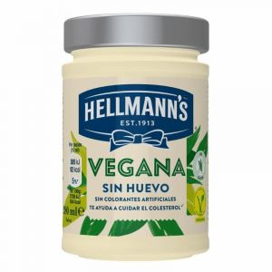 Mayonesa vegana hellmans tarro 280ml