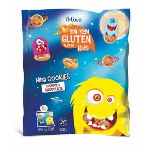 Galleta mini cookie sin gluten choco chip blive 140g