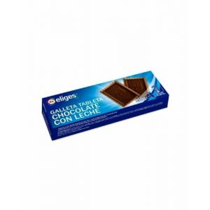 Galleta tableta choco/leche ifa eliges 150gr