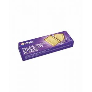 Galletas tableta choco blanco ifa eliges 150g