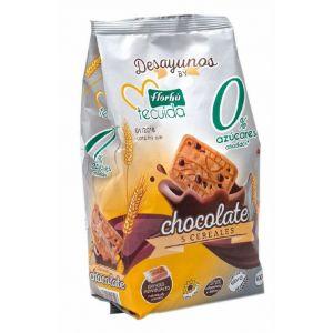 Galleta 5 cereales con choco 0% azucares florbu 400g