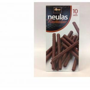 Barquillo tubo neulas chocolate dicar 100gr