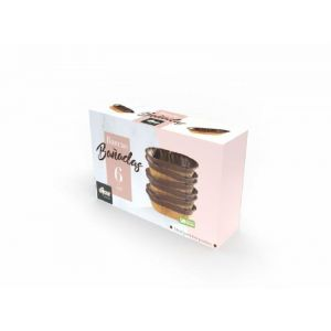 Galleta barca chocolate dicar 110gr