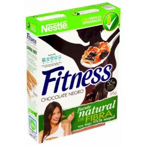 Cereales con chocolate negro nestle fitness 375g