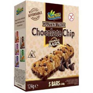 Barrita cereal sin gluten chocochip emco 124g