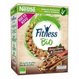 Cereales bio choco/avena fitness nestle 300gr