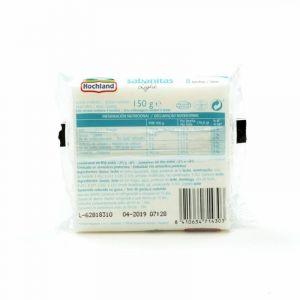 Queso lonchas sabanitas nur diet 8 unidades 150g