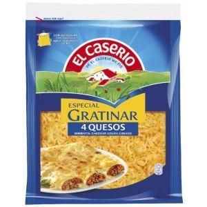Queso rallado 4 quesos caserio 130g