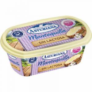 Mantequilla sin lactosa asturiana tarrina 250g