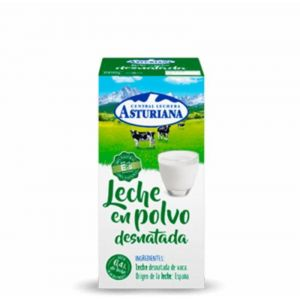 Leche desnatada en polvo asturiana 1 kg