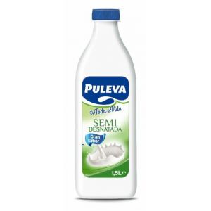 Leche semidesnatada puleva botella 1,5l
