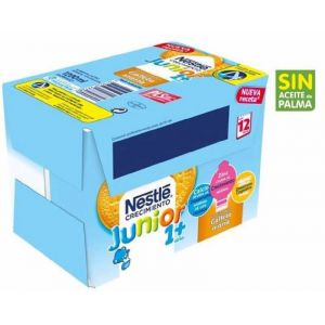 Leche crec junior 1+ gall nestle  p6x200ml