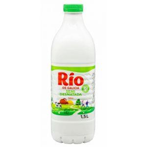 Leche semidesnatada rio botella 1,5l