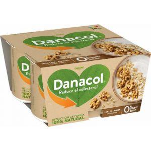 Danacol avena nueces danone pack 4 480g