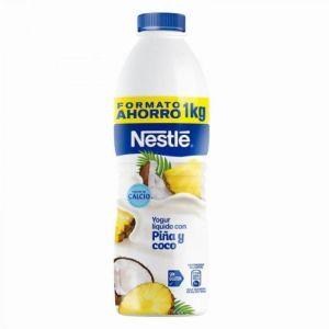 Yogur líquido piña y coco nestle 1kg