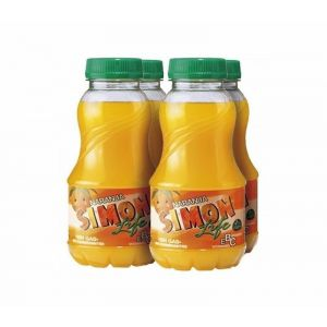 Bebida  naranja simon life pet p-4 20cl