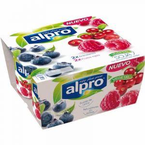 Yogur arandanos y frutos rojos alpro 500g