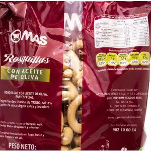 Picos rosquillas aceite oliva mas  250g