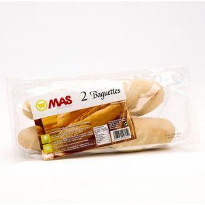 Baguette para hornear  mas  p2x125g