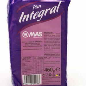 Pan molde  integral mas  460g