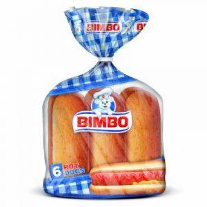 Hot dog  estilo artesano bimbo p-4ux 50g