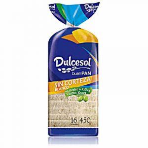 Pan molde sin corteza dulcesol 460g