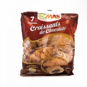 Croissant relleno chocolate mas  p7x35g