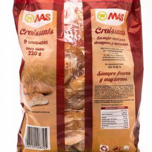 Croissant  mantequilla mas  p9x25g