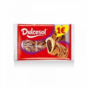 Caña  chocolate dulcesol  p3x210g