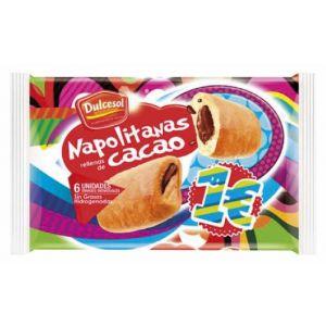 Napolitana  chocolate dulcesol  p5x200g