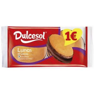Bizcochos lunas chocolate dulcesol