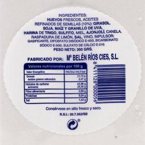 Piñonate   curro jimenez bandeja 350g