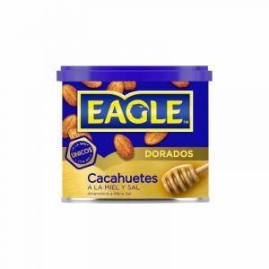 Cacahuetes tostados con miel eagle lata 250 gr