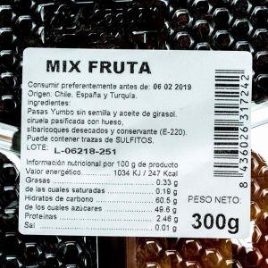 Cocktail de frutas secas san blas 300g