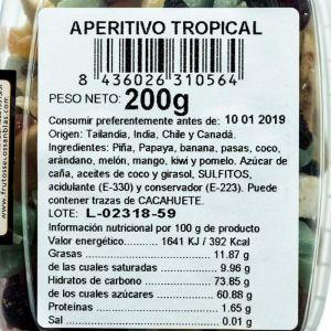 Cocktail fruta tropical san blas  200g