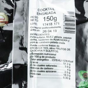 Cocktail frutos secos para ensalada san blas 150g