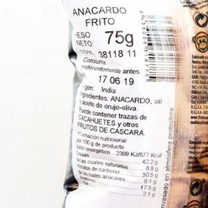 Anarcados fritos san blas 75g